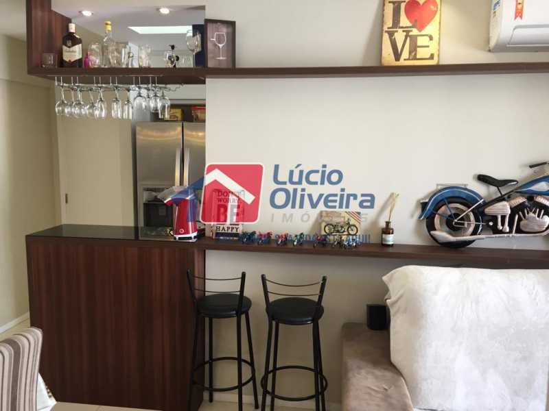 05- Sala. - Apartamento À Venda - Del Castilho - Rio de Janeiro - RJ - VPAP30276 - 6