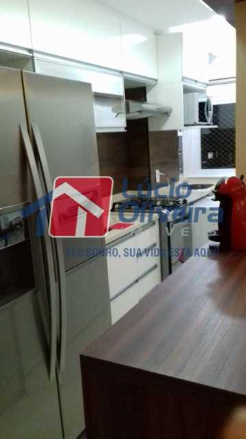06- Cozinha. - Apartamento À Venda - Del Castilho - Rio de Janeiro - RJ - VPAP30276 - 7