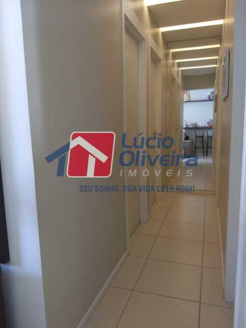 10- Circulação. - Apartamento À Venda - Del Castilho - Rio de Janeiro - RJ - VPAP30276 - 11