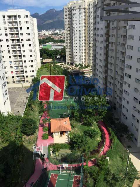 23 -Vista Varanda. - Apartamento À Venda - Del Castilho - Rio de Janeiro - RJ - VPAP30276 - 23