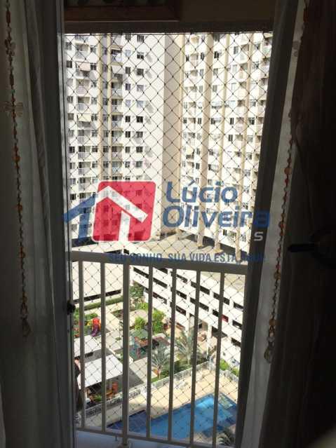 25 - Varanda. - Apartamento À Venda - Del Castilho - Rio de Janeiro - RJ - VPAP30276 - 25