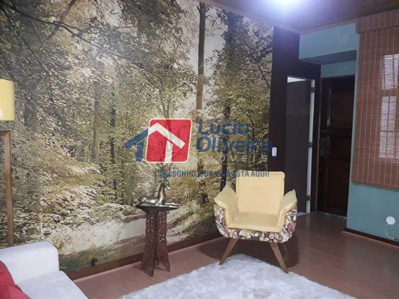 2-Sala - Apartamento À Venda - Vista Alegre - Rio de Janeiro - RJ - VPAP21156 - 3