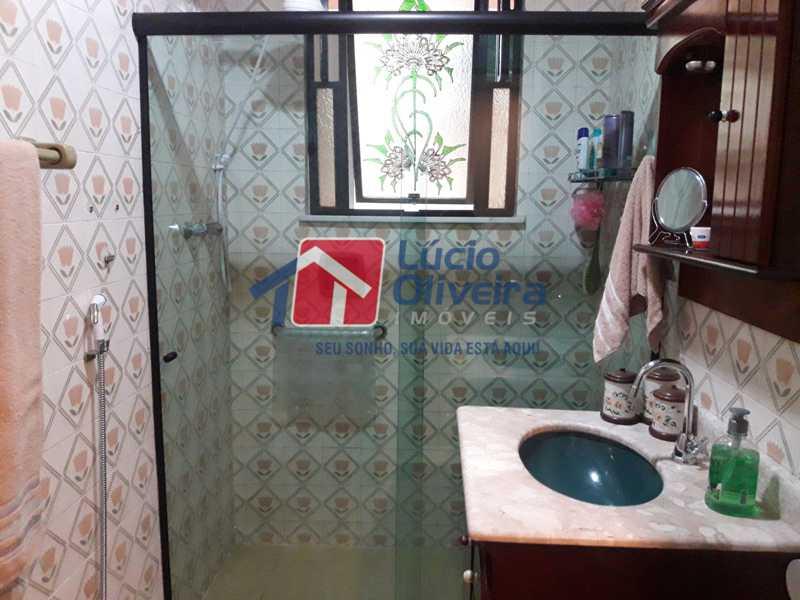 9-Banheiro Social - Apartamento À Venda - Vista Alegre - Rio de Janeiro - RJ - VPAP21156 - 9