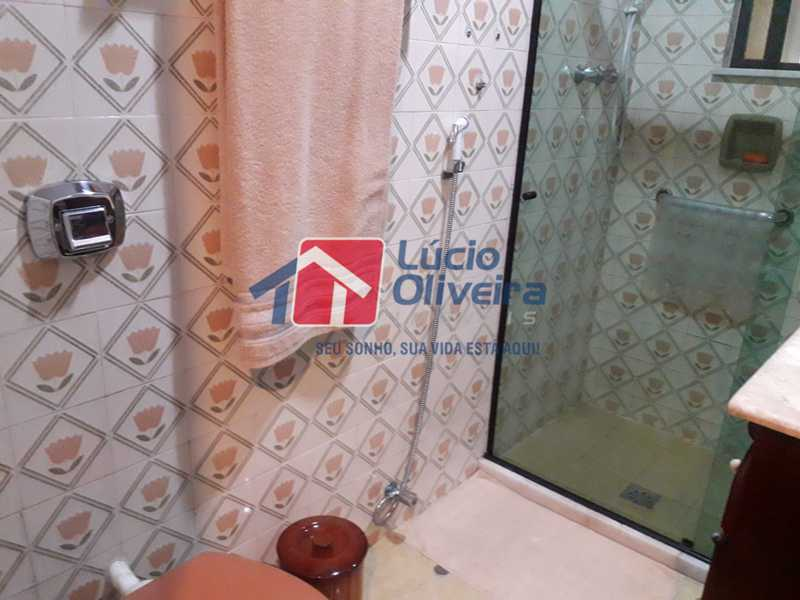 10-Banheiro Social. - Apartamento À Venda - Vista Alegre - Rio de Janeiro - RJ - VPAP21156 - 10