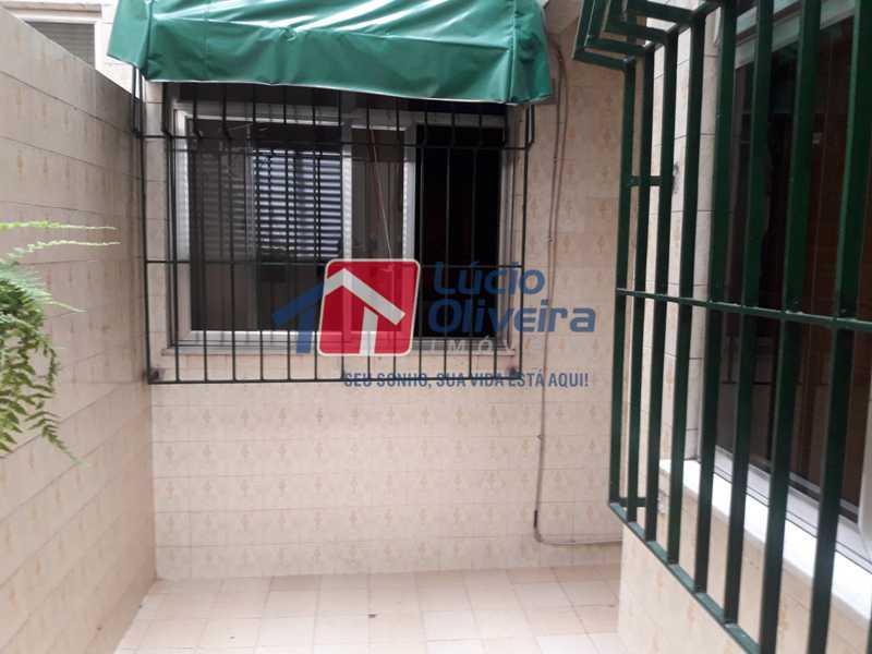 17-AreaExterna - Apartamento À Venda - Vista Alegre - Rio de Janeiro - RJ - VPAP21156 - 17