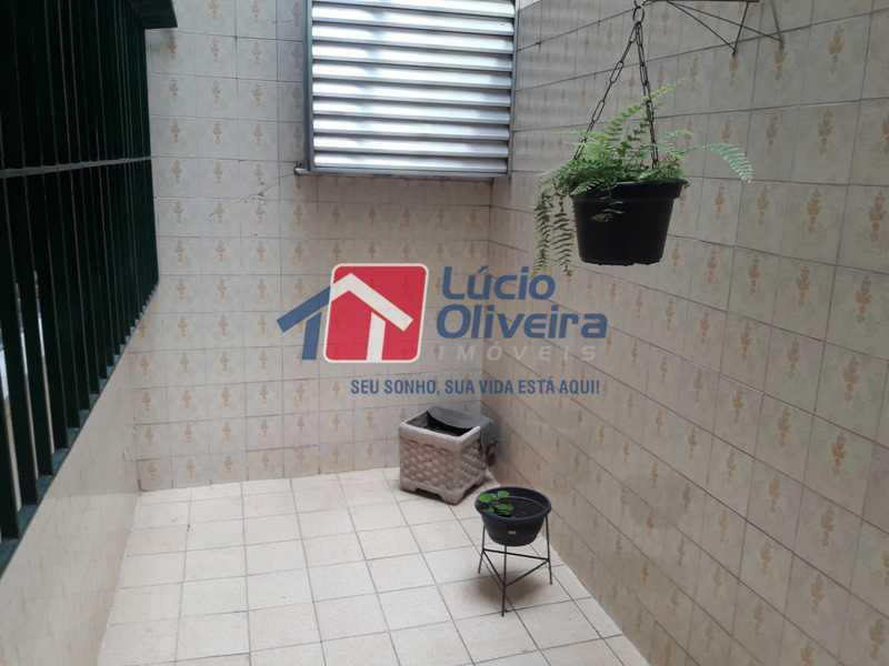 18-Area externa Sala - Apartamento À Venda - Vista Alegre - Rio de Janeiro - RJ - VPAP21156 - 18