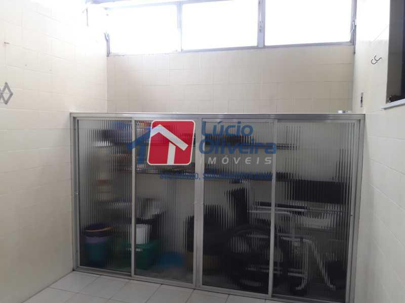 19- Area externa cozinha - Apartamento À Venda - Vista Alegre - Rio de Janeiro - RJ - VPAP21156 - 19