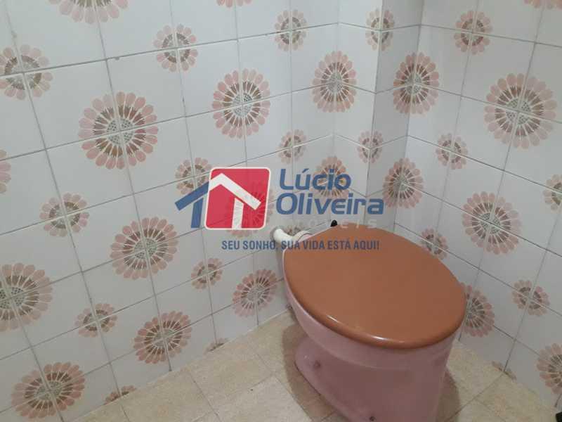 20-Banheiro Serviço - Apartamento À Venda - Vista Alegre - Rio de Janeiro - RJ - VPAP21156 - 20