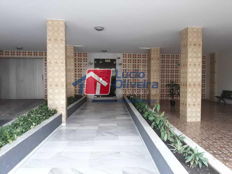 23-Entrada Prédio - Apartamento À Venda - Vista Alegre - Rio de Janeiro - RJ - VPAP21156 - 23