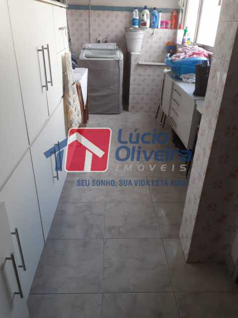 12 area. - Apartamento À Venda - Vista Alegre - Rio de Janeiro - RJ - VPAP21159 - 14