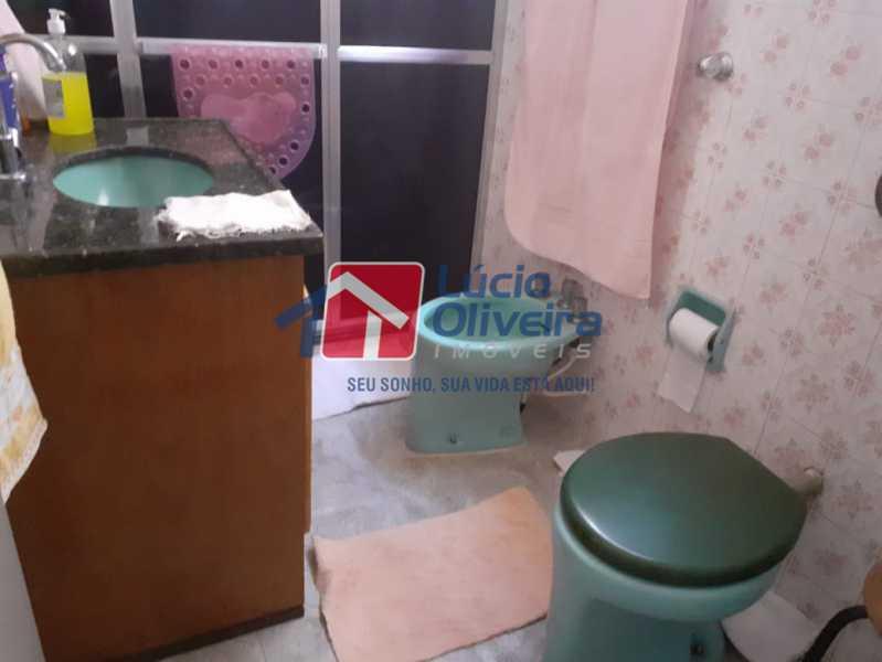 13 banheiro. - Apartamento À Venda - Vista Alegre - Rio de Janeiro - RJ - VPAP21159 - 15