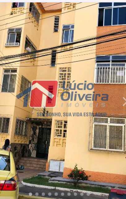 24 Fachada - Apartamento à venda Avenida Dom Hélder Câmara,Quintino Bocaiúva, Rio de Janeiro - R$ 185.000 - VPAP21163 - 25