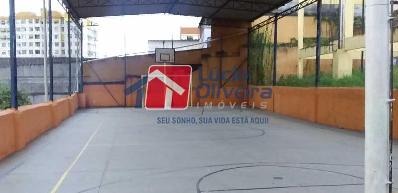 25 - Quadra Polisportiva - Apartamento à venda Avenida Dom Hélder Câmara,Quintino Bocaiúva, Rio de Janeiro - R$ 185.000 - VPAP21163 - 26
