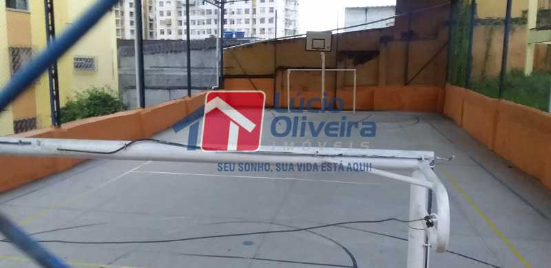 26 - Quadra Poliesportiva - Apartamento à venda Avenida Dom Hélder Câmara,Quintino Bocaiúva, Rio de Janeiro - R$ 185.000 - VPAP21163 - 27