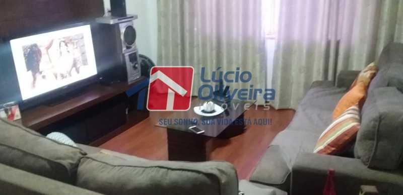 01- Sala. - Apartamento à venda Rua do Trabalho,Vila da Penha, Rio de Janeiro - R$ 265.000 - VPAP21164 - 1