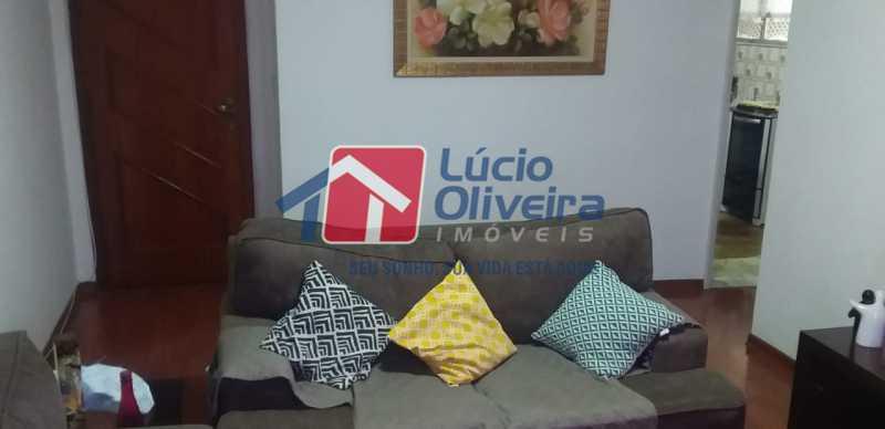 02- Sala. - Apartamento à venda Rua do Trabalho,Vila da Penha, Rio de Janeiro - R$ 265.000 - VPAP21164 - 3