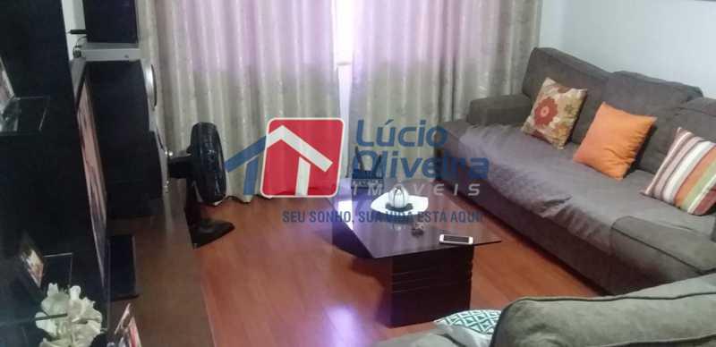 03- Sala. - Apartamento à venda Rua do Trabalho,Vila da Penha, Rio de Janeiro - R$ 265.000 - VPAP21164 - 4