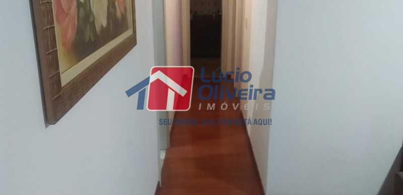 04- Circulação. - Apartamento à venda Rua do Trabalho,Vila da Penha, Rio de Janeiro - R$ 265.000 - VPAP21164 - 5