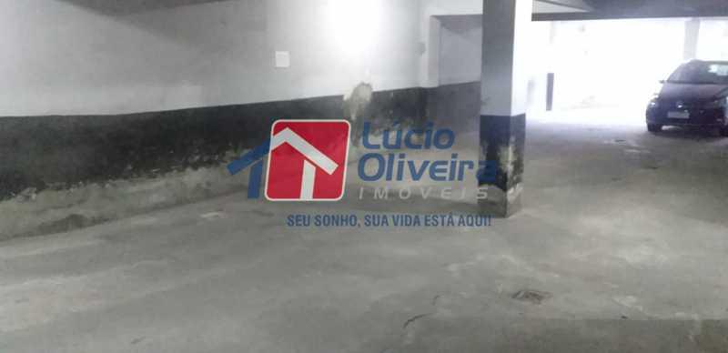 23- Garagem. - Apartamento à venda Rua do Trabalho,Vila da Penha, Rio de Janeiro - R$ 265.000 - VPAP21164 - 24