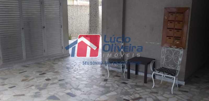 25- Hall de entrada. - Apartamento à venda Rua do Trabalho,Vila da Penha, Rio de Janeiro - R$ 265.000 - VPAP21164 - 26