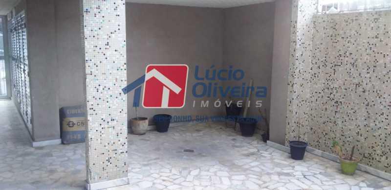 27- Parte Externa. - Apartamento à venda Rua do Trabalho,Vila da Penha, Rio de Janeiro - R$ 265.000 - VPAP21164 - 28