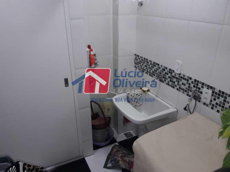 10 Área de serviço - Apartamento À Venda - Vista Alegre - Rio de Janeiro - RJ - VPAP30278 - 11