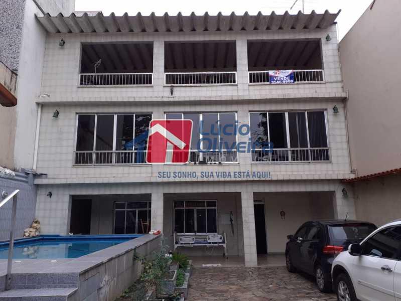 1 fachada. - Casa à venda Avenida São Félix,Vista Alegre, Rio de Janeiro - R$ 990.000 - VPCA30154 - 1