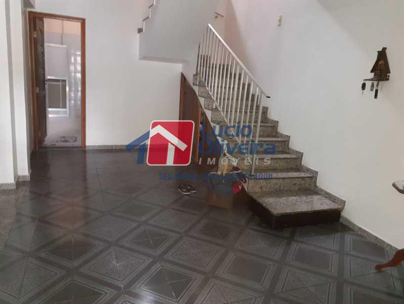 4 hall de entrada. - Casa à venda Avenida São Félix,Vista Alegre, Rio de Janeiro - R$ 990.000 - VPCA30154 - 5