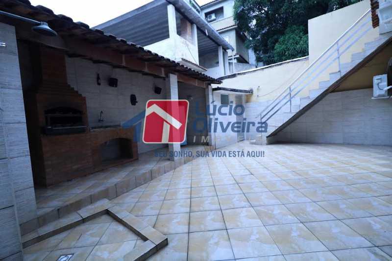 21- Churrasqueira - Casa À Venda - Irajá - Rio de Janeiro - RJ - VPCA30155 - 22