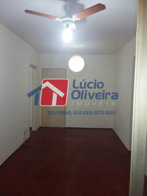 3 sala - Apartamento À Venda - Vaz Lobo - Rio de Janeiro - RJ - VPAP21165 - 3