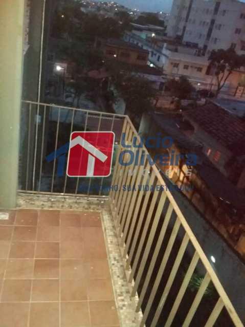 4 vista da varanda - Apartamento À Venda - Vaz Lobo - Rio de Janeiro - RJ - VPAP21165 - 4