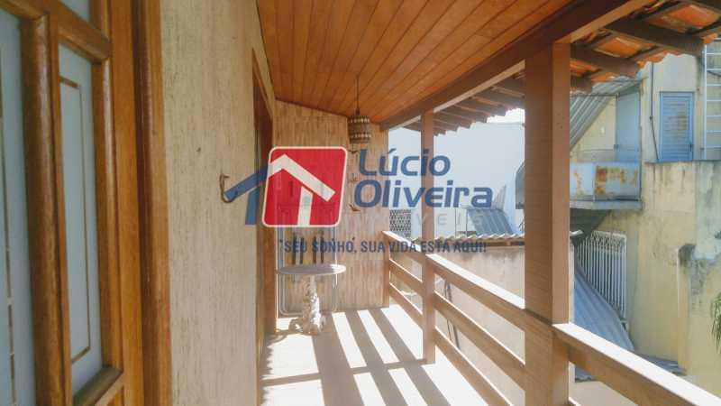 10 Varanda - Casa à venda Rua Paranapanema,Olaria, Rio de Janeiro - R$ 750.000 - VPCA60003 - 13