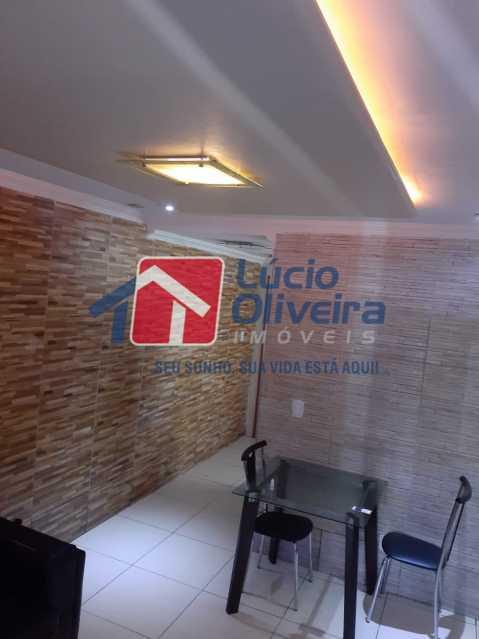 02 - Sala - Apartamento à venda Rua Soldado Teodoro Ribeiro,Vista Alegre, Rio de Janeiro - R$ 335.000 - VPAP21166 - 1