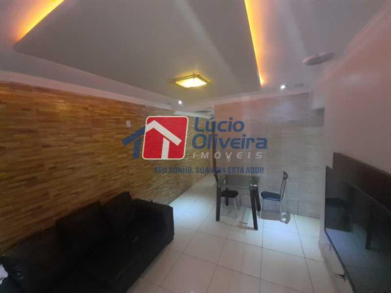 03 - Sala - Apartamento à venda Rua Soldado Teodoro Ribeiro,Vista Alegre, Rio de Janeiro - R$ 335.000 - VPAP21166 - 3