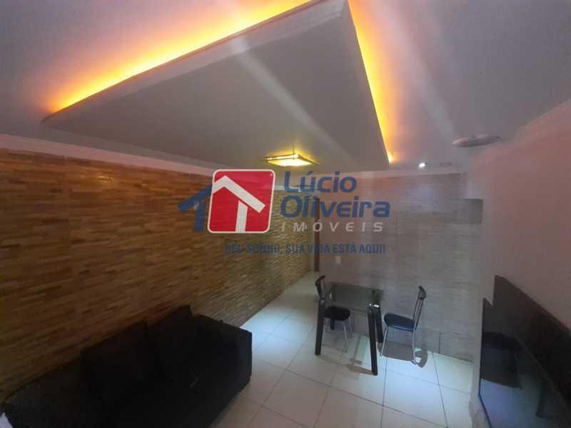 04 - Sala - Apartamento à venda Rua Soldado Teodoro Ribeiro,Vista Alegre, Rio de Janeiro - R$ 335.000 - VPAP21166 - 4