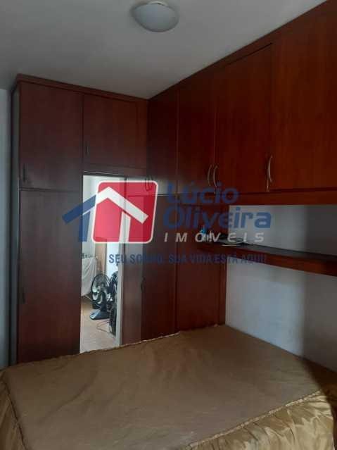 06 - Quarto Casal - Apartamento à venda Rua Soldado Teodoro Ribeiro,Vista Alegre, Rio de Janeiro - R$ 335.000 - VPAP21166 - 6