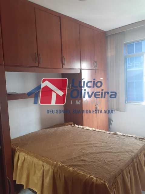 07 - Quarto Casal - Apartamento à venda Rua Soldado Teodoro Ribeiro,Vista Alegre, Rio de Janeiro - R$ 335.000 - VPAP21166 - 7