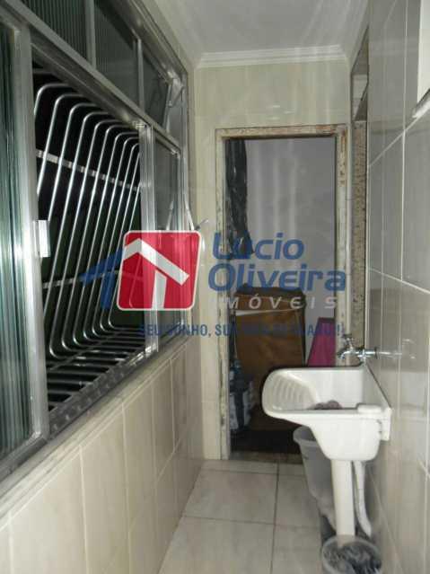 17 - Área - Apartamento À Venda - Vista Alegre - Rio de Janeiro - RJ - VPAP21166 - 17