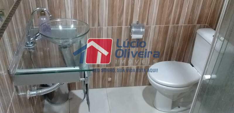 21 - Banheiro - Apartamento à venda Rua Soldado Teodoro Ribeiro,Vista Alegre, Rio de Janeiro - R$ 335.000 - VPAP21166 - 21