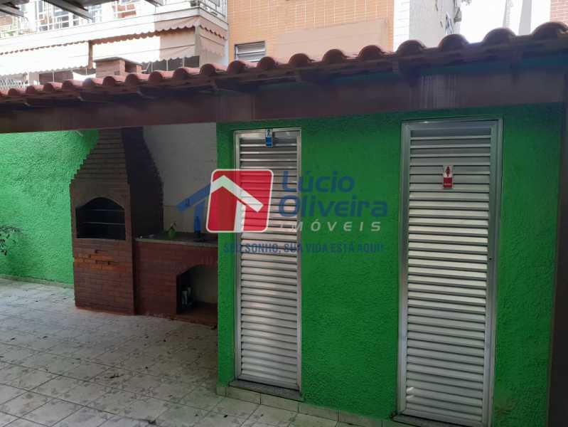 27- Área Gormet - Apartamento À Venda - Vista Alegre - Rio de Janeiro - RJ - VPAP21166 - 27