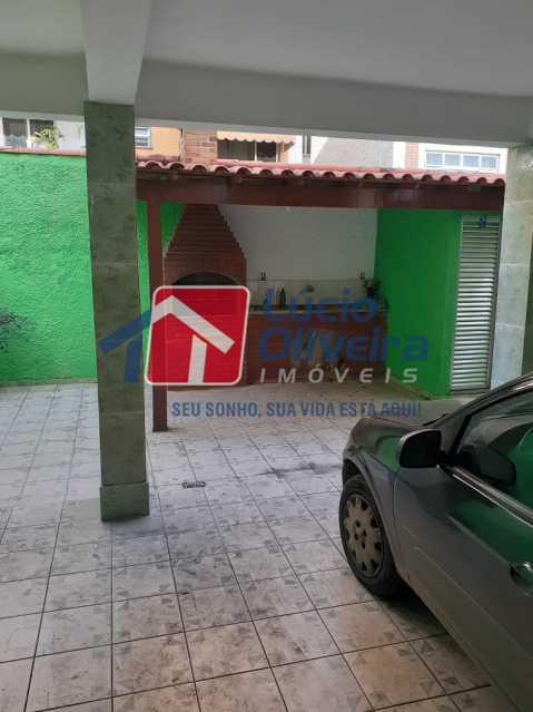 28 - Área Gourmet - Apartamento À Venda - Vista Alegre - Rio de Janeiro - RJ - VPAP21166 - 28