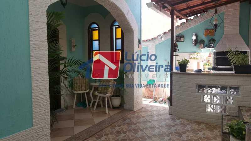 1area gormet. - Casa à venda Rua Síria,Vila da Penha, Rio de Janeiro - R$ 450.000 - VPCA20226 - 1