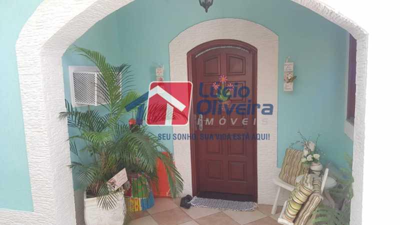 2 entrada. - Casa à venda Rua Síria,Vila da Penha, Rio de Janeiro - R$ 450.000 - VPCA20226 - 3