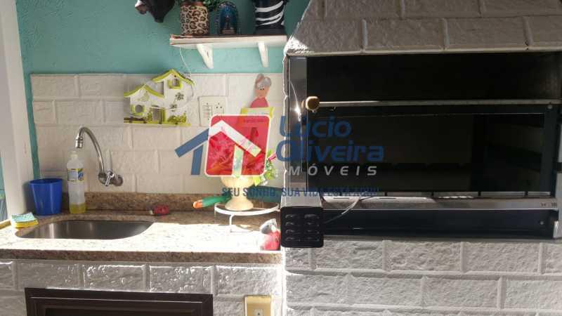 16 churrasqueira. - Casa à venda Rua Síria,Vila da Penha, Rio de Janeiro - R$ 450.000 - VPCA20226 - 17