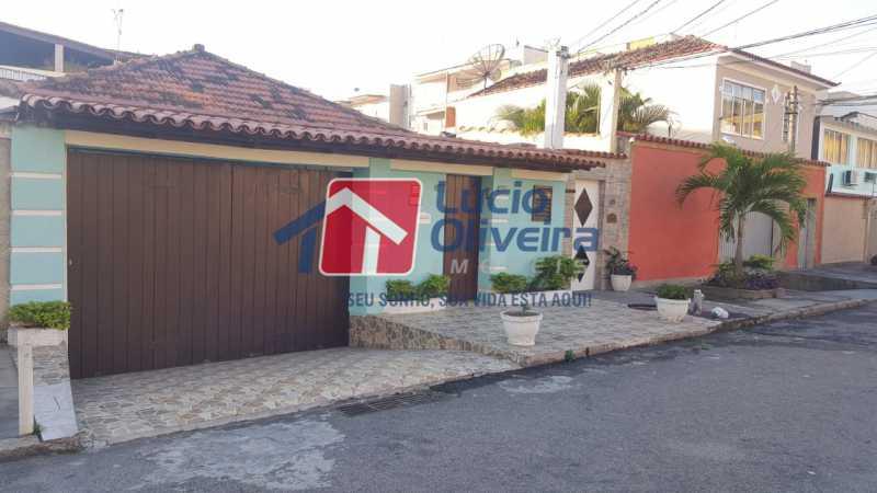 20 fachada. - Casa à venda Rua Síria,Vila da Penha, Rio de Janeiro - R$ 450.000 - VPCA20226 - 21