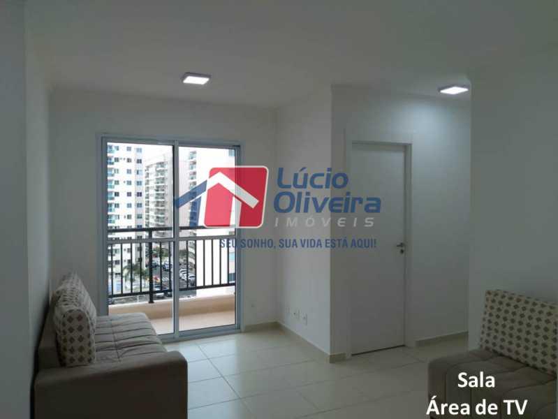 01- Sala. - Apartamento À Venda - Penha - Rio de Janeiro - RJ - VPAP21169 - 1