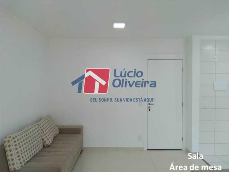 02- Sala. - Apartamento À Venda - Penha - Rio de Janeiro - RJ - VPAP21169 - 3