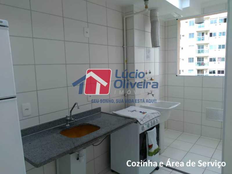 04- Cozinha. - Apartamento À Venda - Penha - Rio de Janeiro - RJ - VPAP21169 - 5