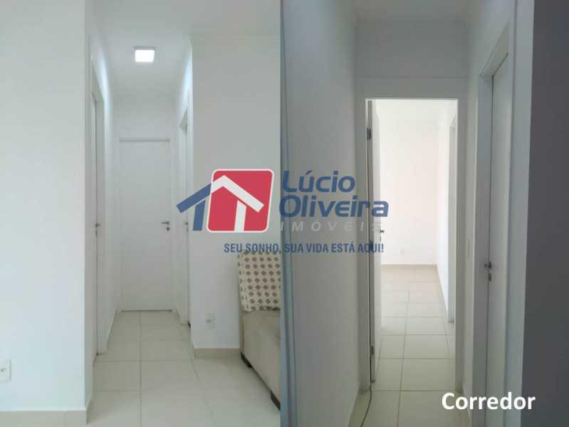 06- Circulação. - Apartamento À Venda - Penha - Rio de Janeiro - RJ - VPAP21169 - 7