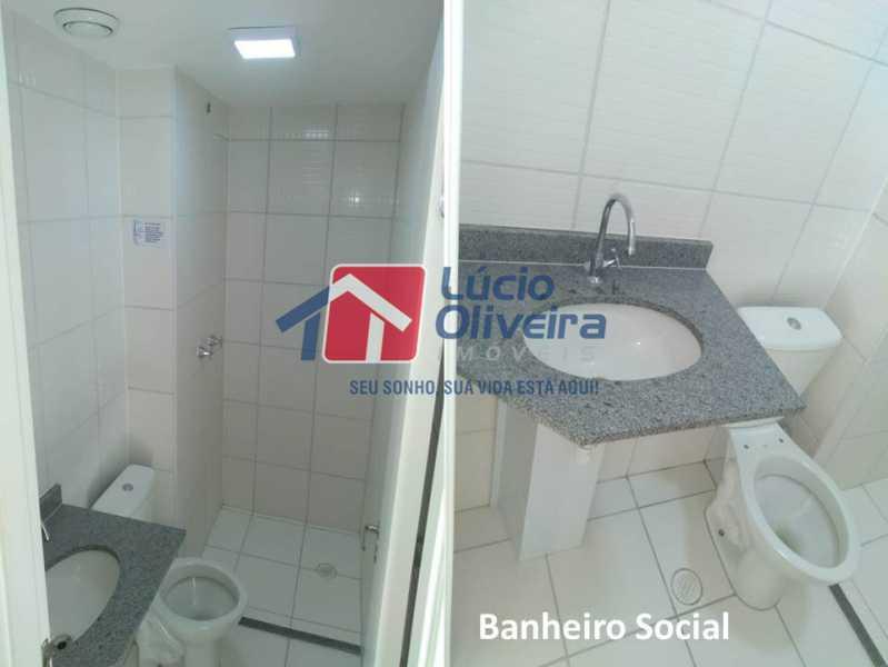 07- Banheiro S.. - Apartamento À Venda - Penha - Rio de Janeiro - RJ - VPAP21169 - 8